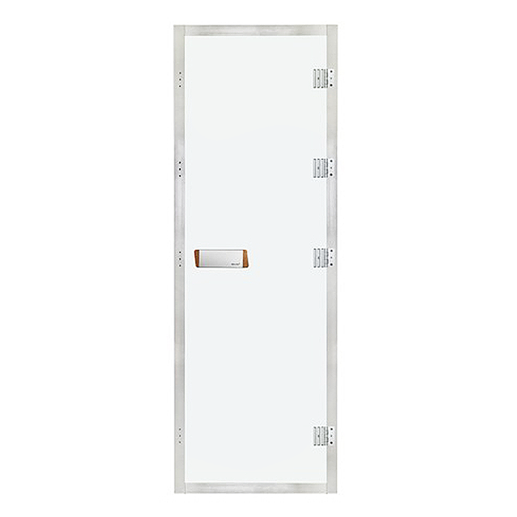 Steam Doors Tempered Glass With Stainless Steel Frame For Wet Steam Bath Room1890*690*80MM