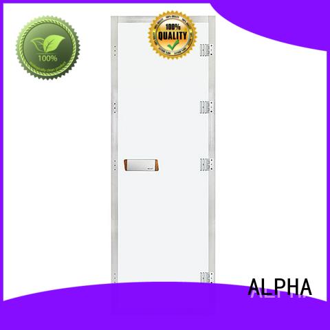 ALPHA New steam room glass doors company