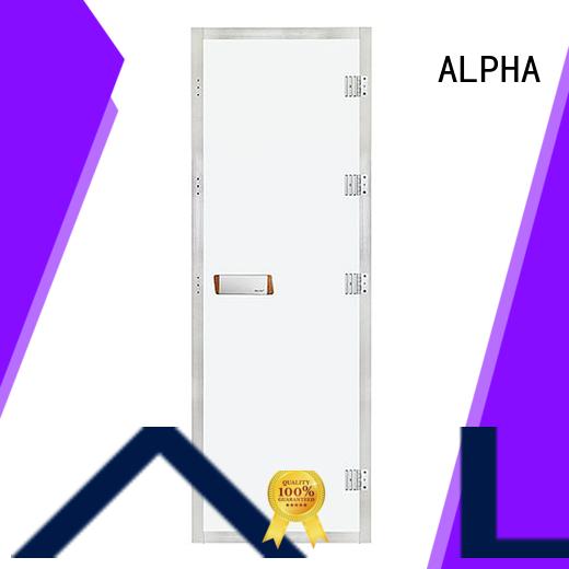 ALPHA western sauna room door personalized for villa