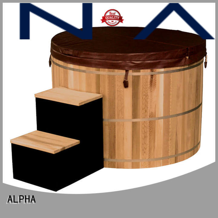 ALPHA Wholesale wooden hot tub company