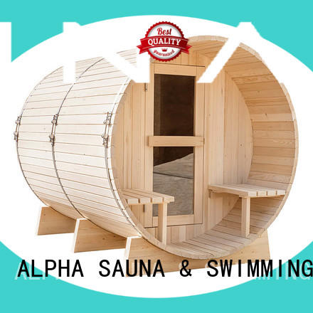 electricalbarrelsauna harvia with good price for indoor