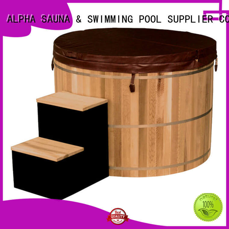 ALPHA small hot tubs company