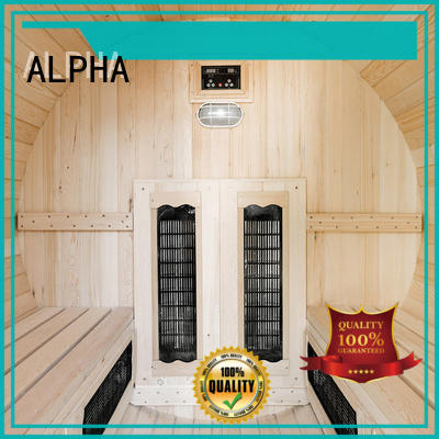 ALPHA sauna room company