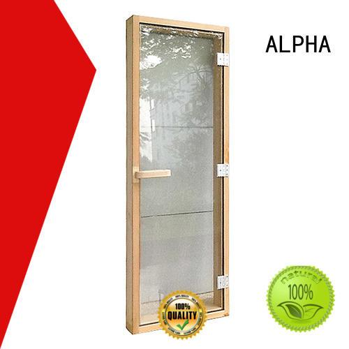 180060050mm cedar sauna door wholesale for bathroom