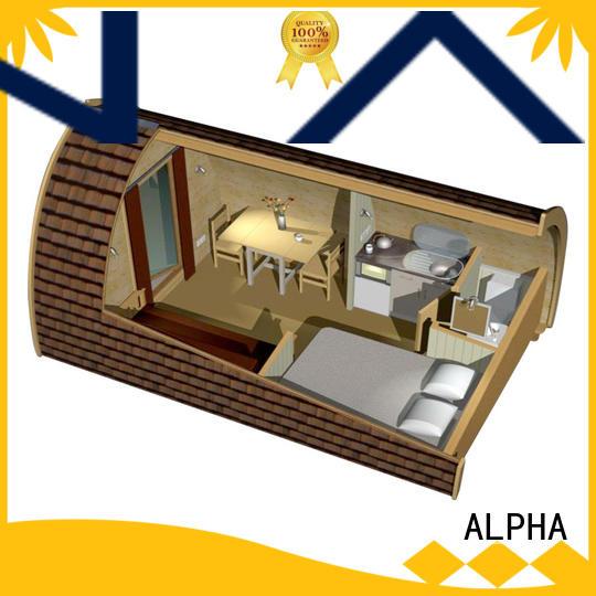 ALPHA outdoor barrel house factory for cabin