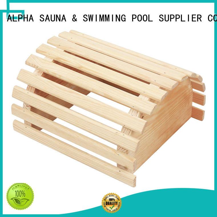 ALPHA Brand solid sauna custom sauna room accessories