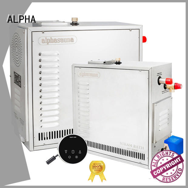 ALPHA luxury steam generator for home controller for bathroom