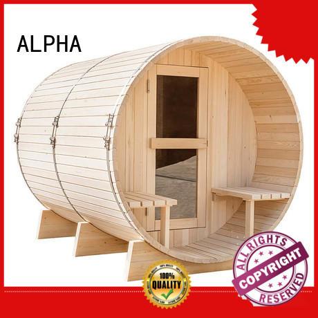 ALPHA pine sauna company