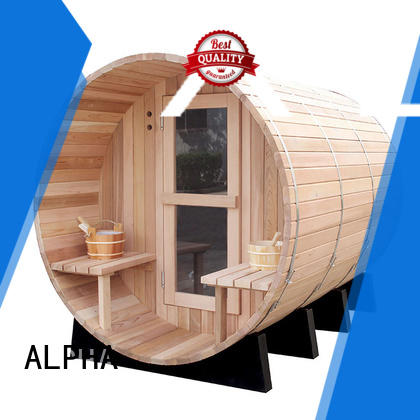 cedar sauna harvia for villa ALPHA