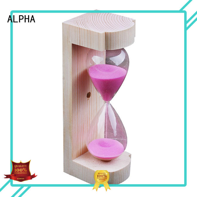 ALPHA free standing sand glass series for villa
