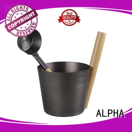 ALPHA sauna ladle for business