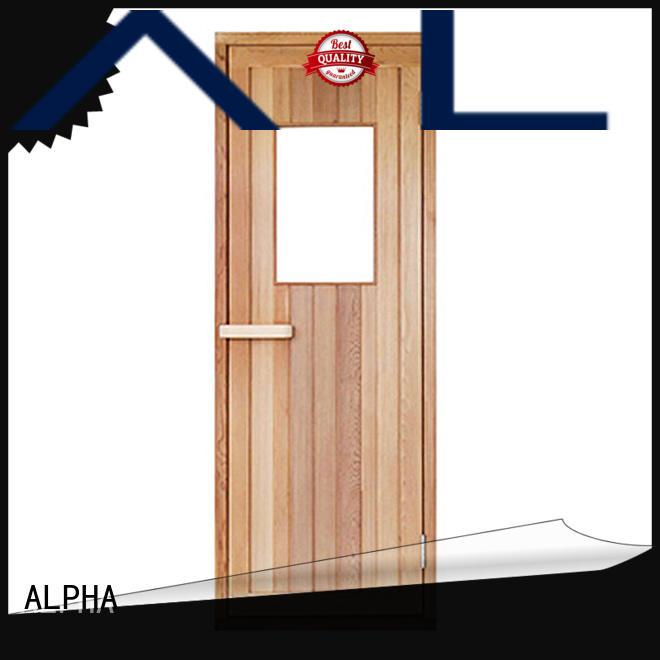 Top cheap sauna doors manufacturers