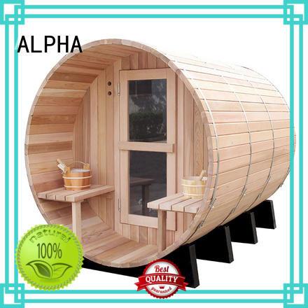 ALPHA New red cedar sauna Suppliers