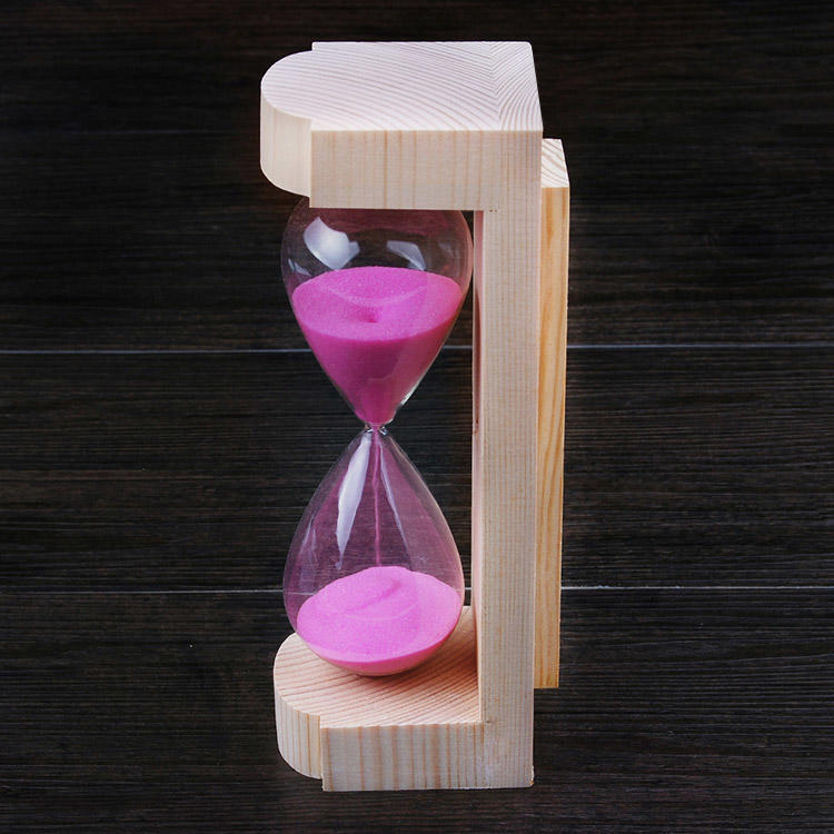 Sauna Sand Timer Free Standing 15Minutes Spruce/ Aspen/ Red Cedar Alpha Sauna