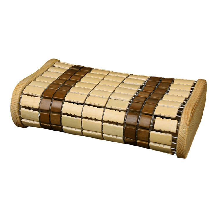 Bamboo Headrest Pillow made of Bamboo and Spruce Wooden Frame