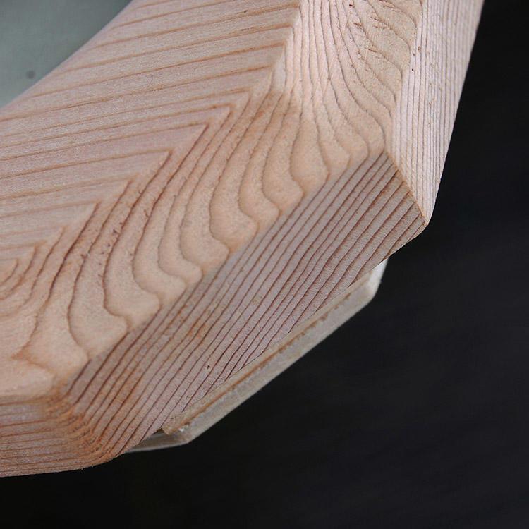 Red cedar Sauna Hygrometer Temperature Oblique Angled Shape Finnish White for Sauna