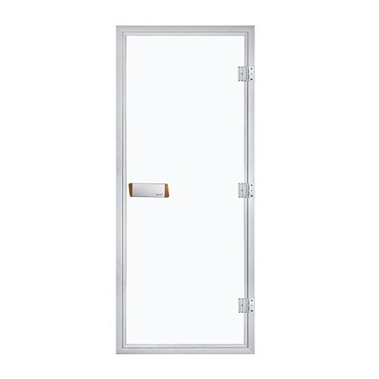 Sauna Doors Aluminium/Tempered Glass For Wet Steam Bath Room1890*690*80MM