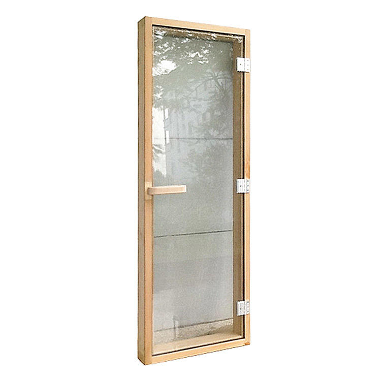 Sauna Door Solid Cedar with Reversible Hinges Size 1860*690*80mm