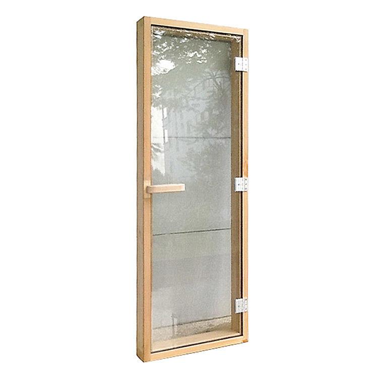 Sauna Door Solid Cedar with Reversible Hinges Size 1860*690*80mm