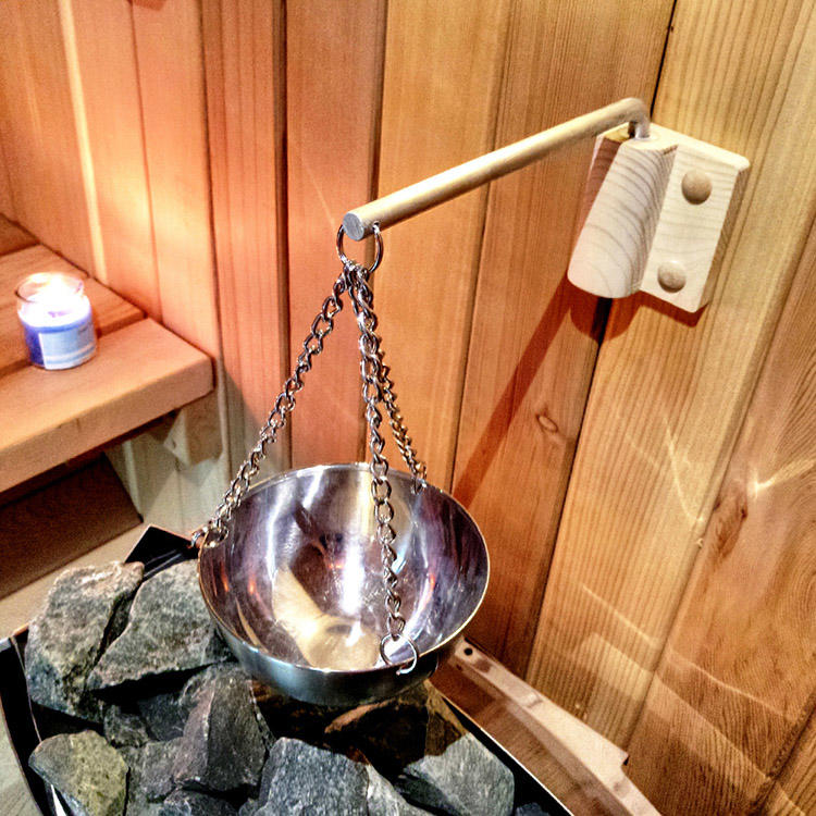 Stainless Steel Saunas Room Aroma Cup, Size Dia. 120MM to 200MM