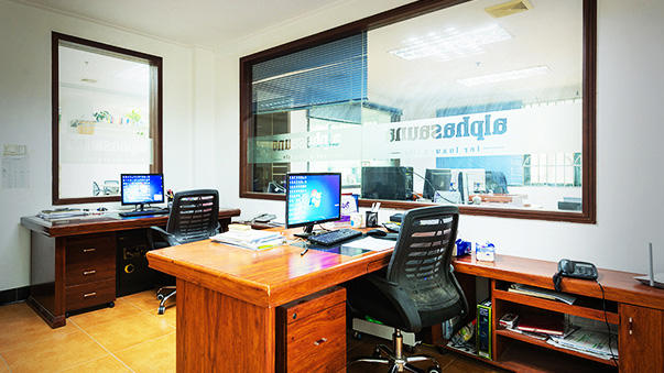 Alphasauna office room