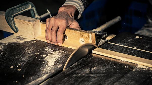 Handmade workmanship