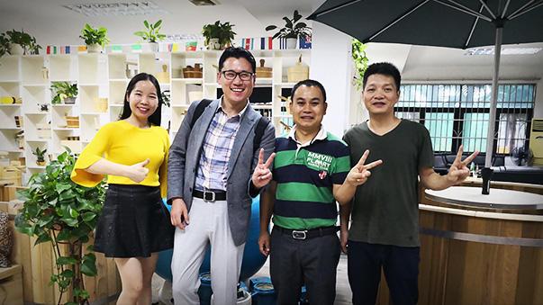 Korea customer visit