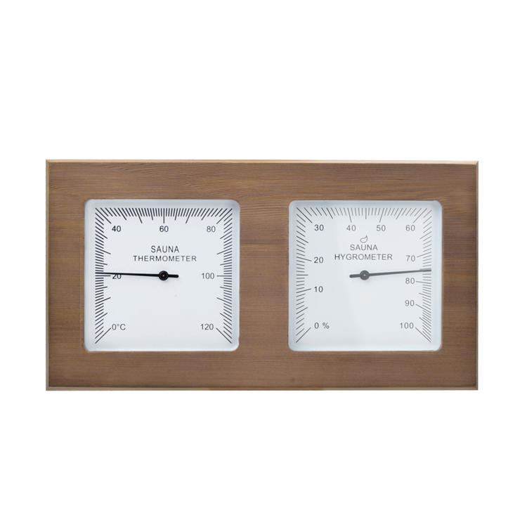 Cedar Thermometer and Hgyrometer For Sauna Accessories