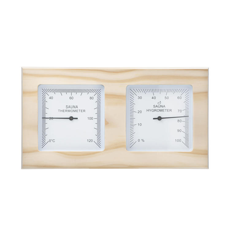 Thermometer And hygrometer Pine Alphasauna