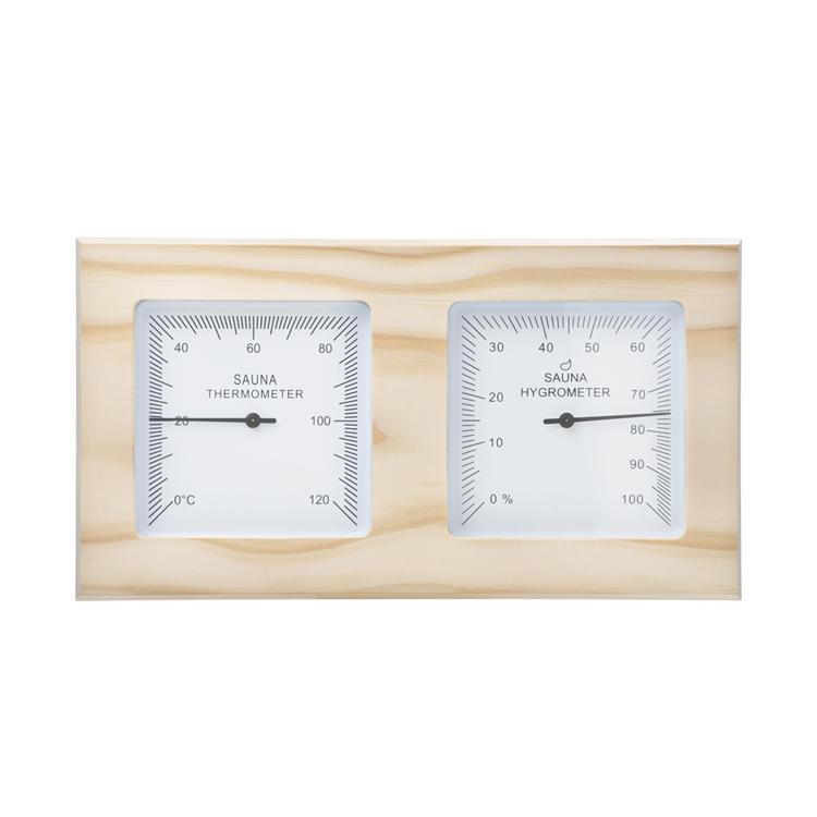Thermometer And hygrometer Pine Alphasauna
