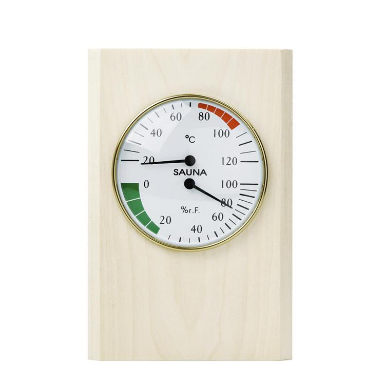 Sauna Thermometer And Hgyrometer Alphasauna