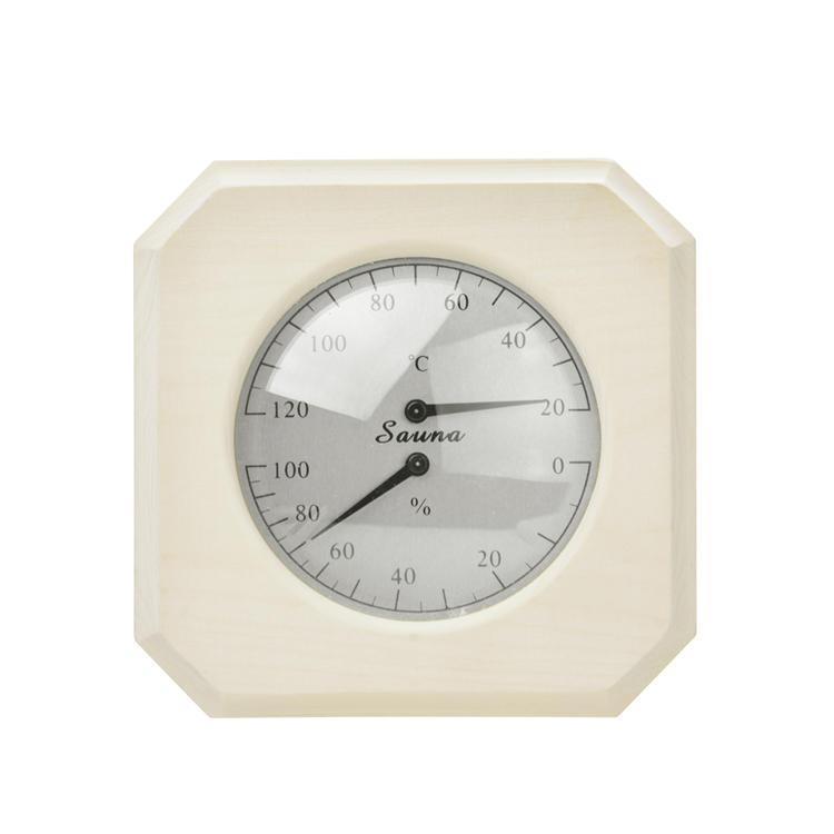 Sauna Thermometer and Hygrometer Alphasauna