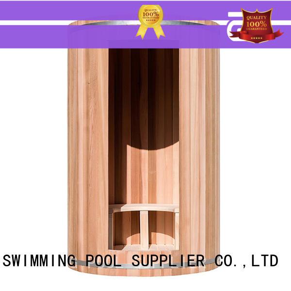 ALPHA option indoor steam sauna design for outdoor