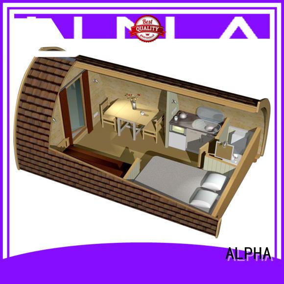 alphasauna camping house factory for villa ALPHA