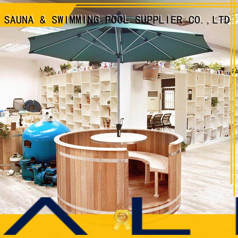 ALPHA round cedar sauna wholesale for bathroom