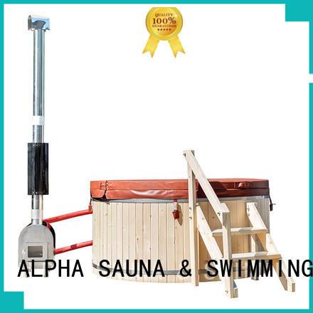external redwood hot tub manufacturer for indoor ALPHA