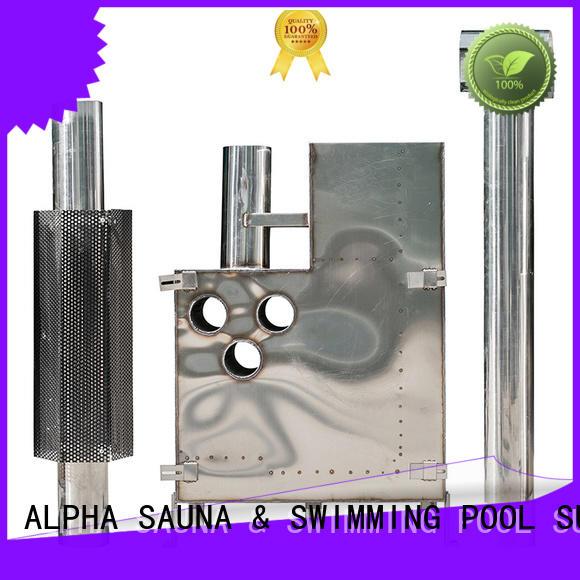 ALPHA Top sauna stove factory