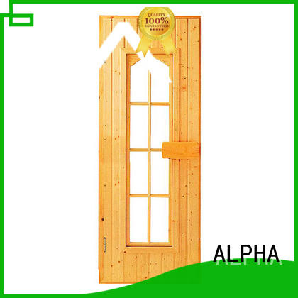 ALPHA steam steam room glass doors personalized for hotel