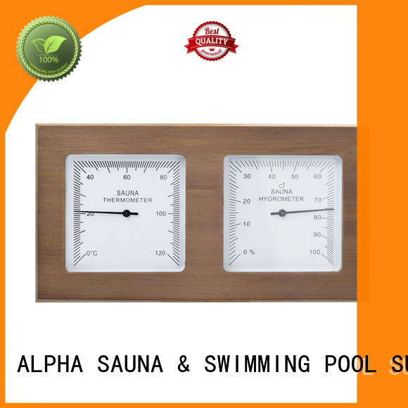 ALPHA instrument hygrometer sauna from China for household