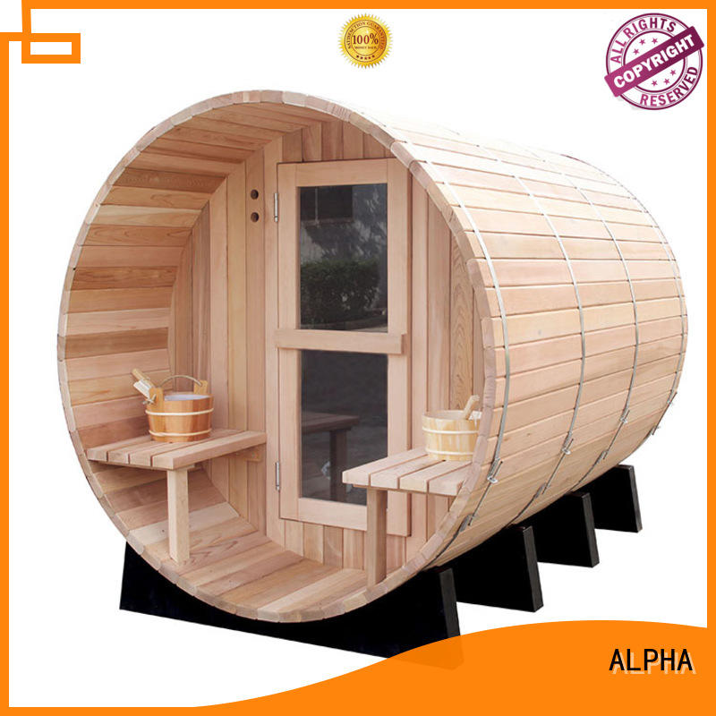 roundcedar sauna harvia factory for bathroom