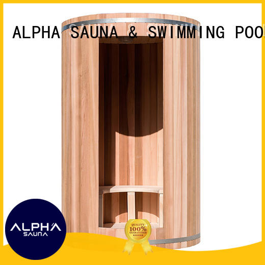 indoor cedar chemical ALPHA Brand indoor sauna supplier
