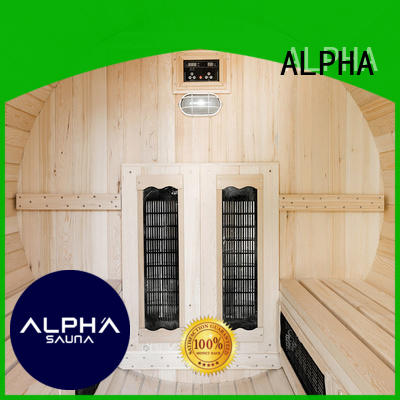 ALPHA electrical sauna room inquire now for outdoor