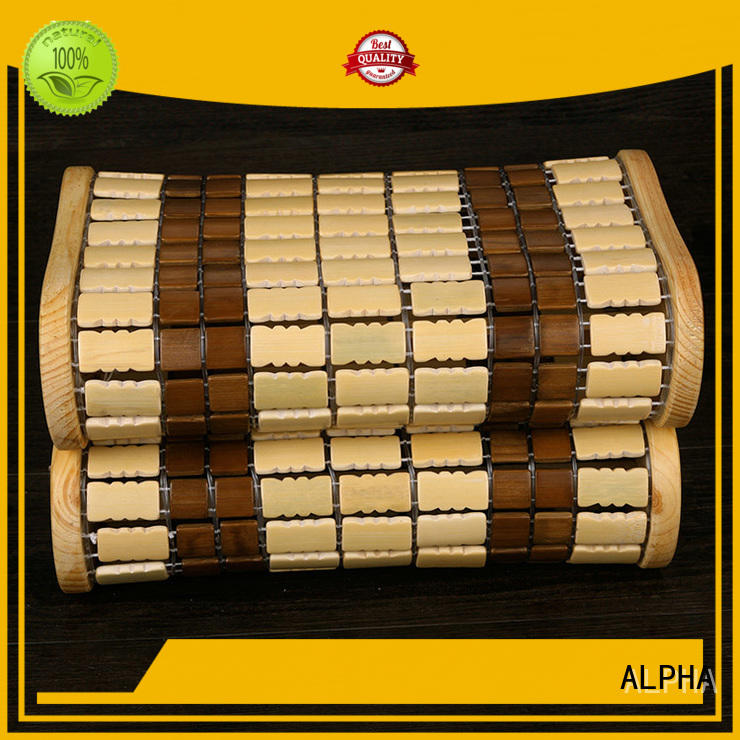 bamboo wooden pillow spruce for indoor ALPHA