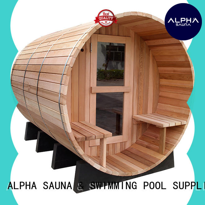wetdry round sauna series for household ALPHA