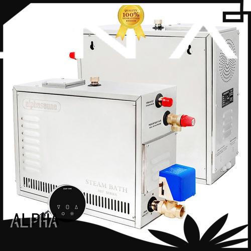 ALPHA stainless steel steam room equipment factory for household