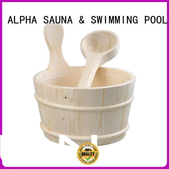 ALPHA strong sauna accessories online with good price for villa
