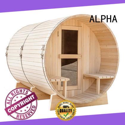 outdoor barrelsauna with good price for outdoor ALPHA