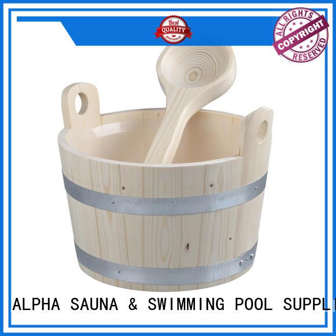 wooden sauna supplies plastic factory price for outdoor