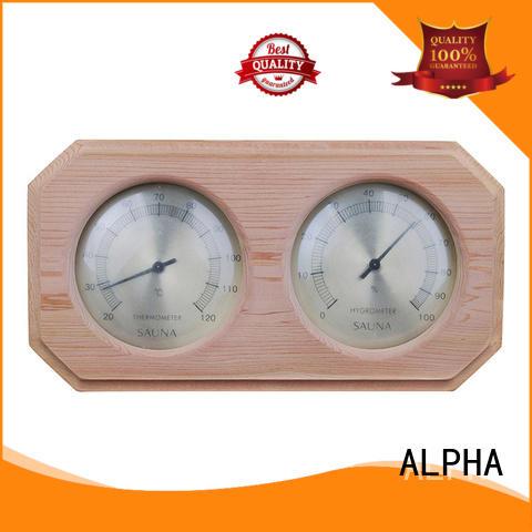 ALPHA instrument sauna hygrometer supplier for bathroom