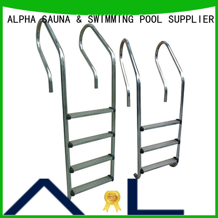painting pool ladder steps factory price for villa ALPHA